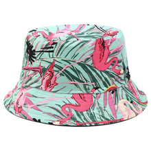 Load image into Gallery viewer, Floral Print Bucket Hat - D