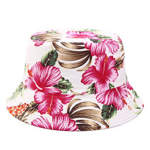 Load image into Gallery viewer, Floral Print Bucket Hat - C