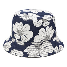 Load image into Gallery viewer, Floral Print Bucket Hat - A