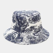 Load image into Gallery viewer, Floral Print Bucket Hat - E