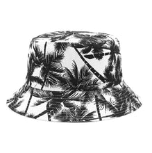 Load image into Gallery viewer, Fruit Print Bucket Hat - Coconut Tree