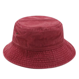 Women's Bucket Hat - Vintage Solid