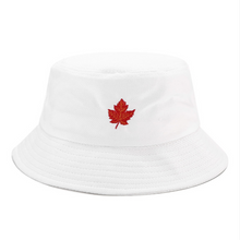 Load image into Gallery viewer, Embroidery Bucket Hat - Maple