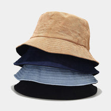 Load image into Gallery viewer, Women's Bucket Hat - Corduroy Solid
