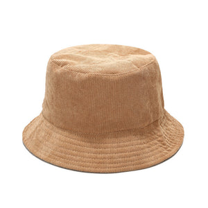 Women's Bucket Hat - Corduroy Solid