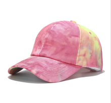 Load image into Gallery viewer, Baseball Cap - Tie-Dye Q
