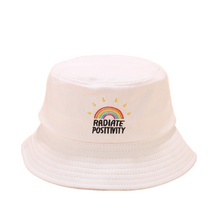 Load image into Gallery viewer, Embroidery Bucket Hat - Rainbow