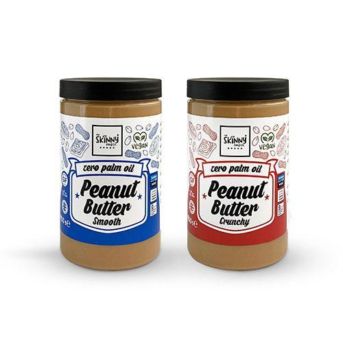 The Skinny Food Co Zero Palm Oil Peanut Butter 400g
