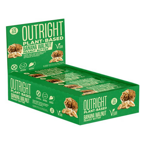 Vegan MTS Nutrition Outright Bars  Plant based x 12 - Special offer £10 off