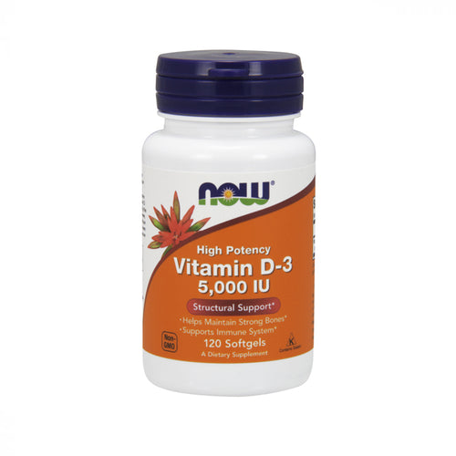 NOW Vitamin D-3 5000 IU