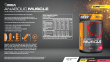 SSA Supplements Anabolic Muscle Mass Gainer + Ganic-F Pump Pre-workout