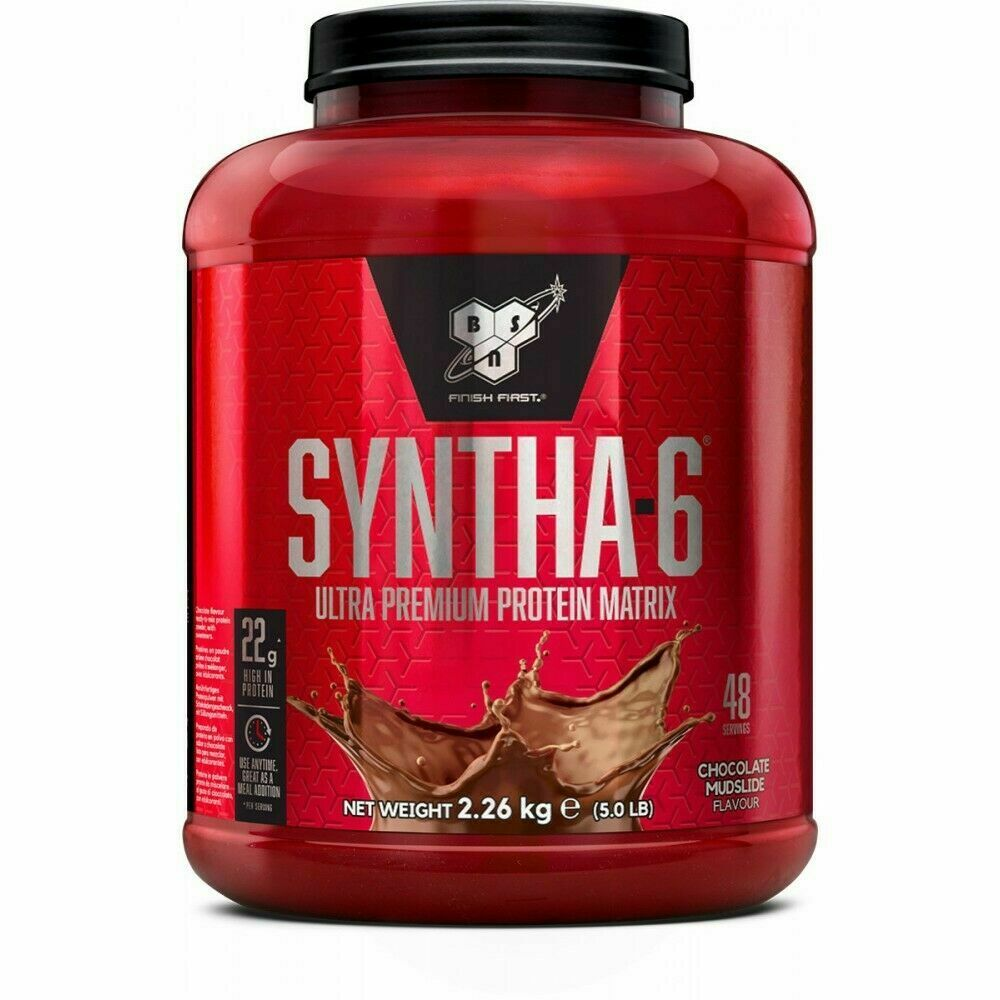 BSN Syntha 6 Protein Powder - 2.26KG / 5LBS - LIMITED EDITION FLAVOURS