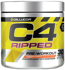 Cellucor C4 Ripped Pre Workout Fat Burning powder 180g