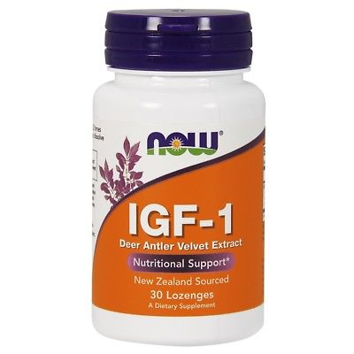 NOW Foods IGF-1 Deer ANtler Velvet Extract