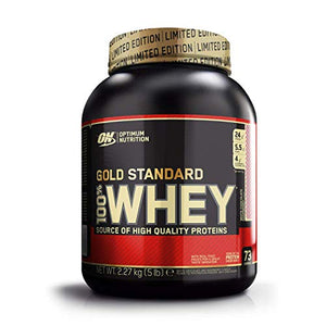 Optimum Nutrition Gold Standard Whey ,White choc rasp 73 Servings, 2.27 kg