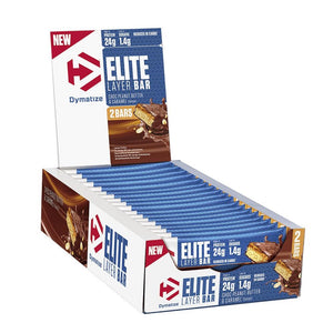 DYMATIZE ELITE LAYER BAR 18x60g (Best before 02/2021)£1.00 PER BAR