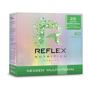 Reflex Nutrition Nexgen Daily Multi Vitamins Inc Magnesium Vitamin D3 (60 Caps)