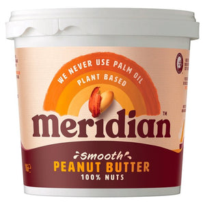 Meridian Foods Smooth Peanut Butter 1kg