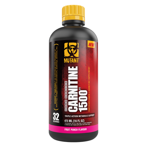 Mutant Core Liquid Carnitine 1500 - 32 servings