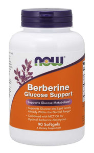 NOW Foods Berberine Glucose Support