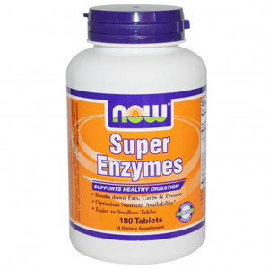NOW Foods Super Enzymes 180 Tablets