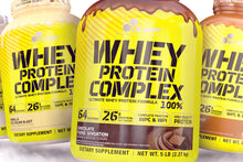 Whey Protein Complex 100% 2.27 Gold Edition + Knockout Pre-workout & Shaker