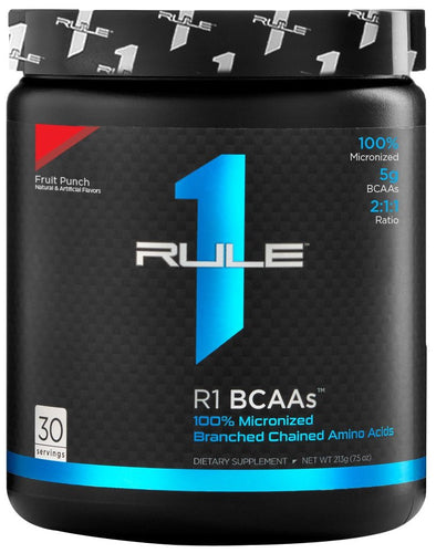 Rule1 R1 BCAA  213g Micronized Branch Chain Amino Acids