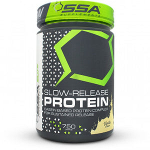SSA Supplements Slow Release Protein 750g