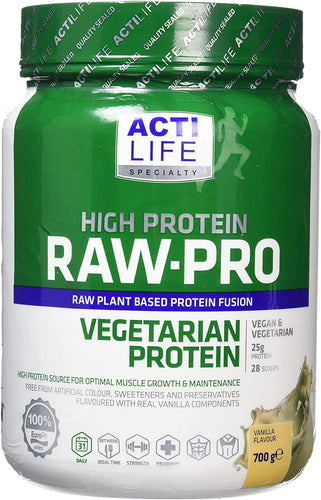 RAW-PRO VEGETARIAN PROTEIN  700g  £15 OFF Short dated 02/2021