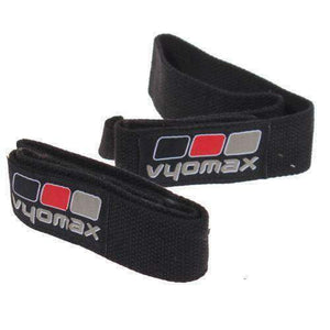 Vyomax Weight Lifting Wrist Straps in Black