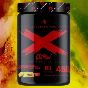 Xplosive Ape Limited  Edition Pre-Workout Catalyst Xplosive Ape
