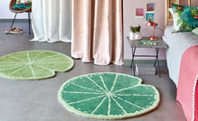 Load image into Gallery viewer, Kids Room Rugs - Lily pad