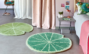 Kids Room Rugs - Lily pad