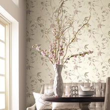 Load image into Gallery viewer, Candice Olsen Linden Flower Wallpaper