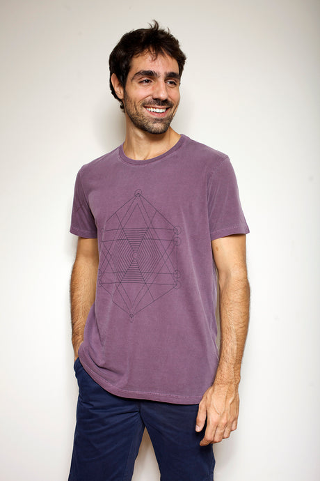 50% OFF - Camiseta Geometria Sagrada