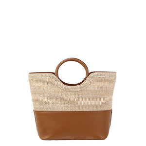 Angie Summer Straw Bag