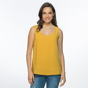 Threadz V Neck Lined Cami