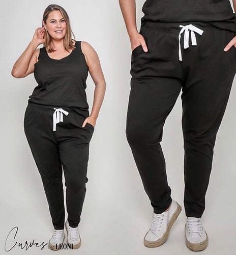 Emmy Slouch Jogger - For Curves