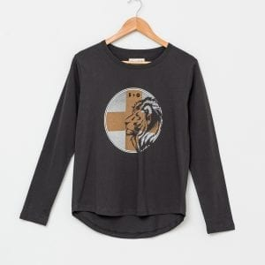 Lion Cross L/S Tee