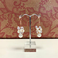 Bead Bunch Pearl Drop Earrings