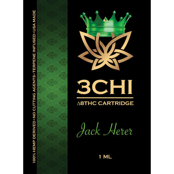 3CHI Jack Herer (Sativa Dominate Hybrid) **Available in store only**