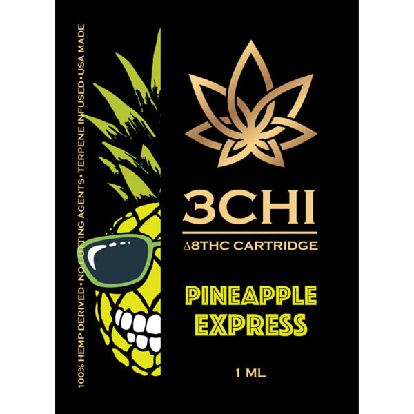 Pineapple Express Delta 8 1ml Cartridge **Available in store only**