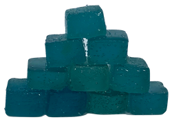 Delta 8 THC Blue Raspberry Gummy Squares 25mg each 10ct  250mg total