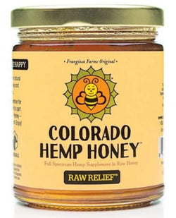 Colorado Hemp Honey  Raw Relief