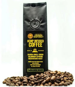 Colorado Hemp Honey Hemp Infused Coffee - 2oz Bag - Medium/Dark Roast