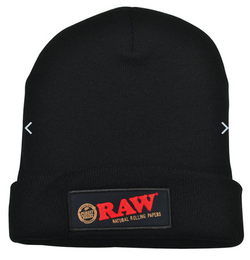 RAW Beanie Hat - Black