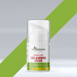 500mg CBD Warming Cream