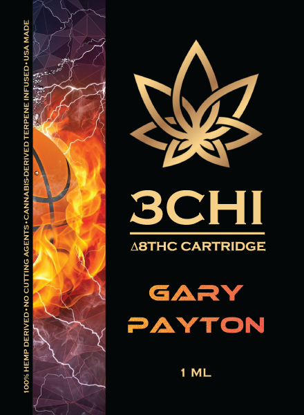 3CHI Gary Payton (Hybrid) Delta 8 THC 1ml Cartridge **Available in store only**