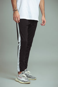 TRACKPANTS  NOIR/BLANC
