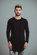 Charger l'image dans la galerie, TEE-SHIRT LONG - BLACK